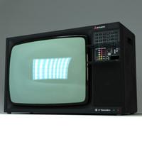 '90s Mitsubisthi CRT television set