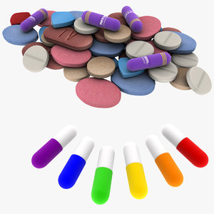 3d medical pills