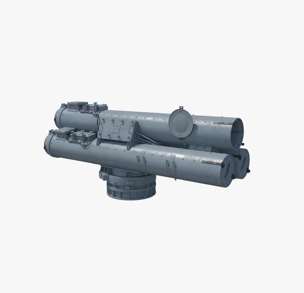 3d max mk 32 mod14 torpedo