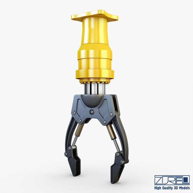 3d hydraulic grab v 1