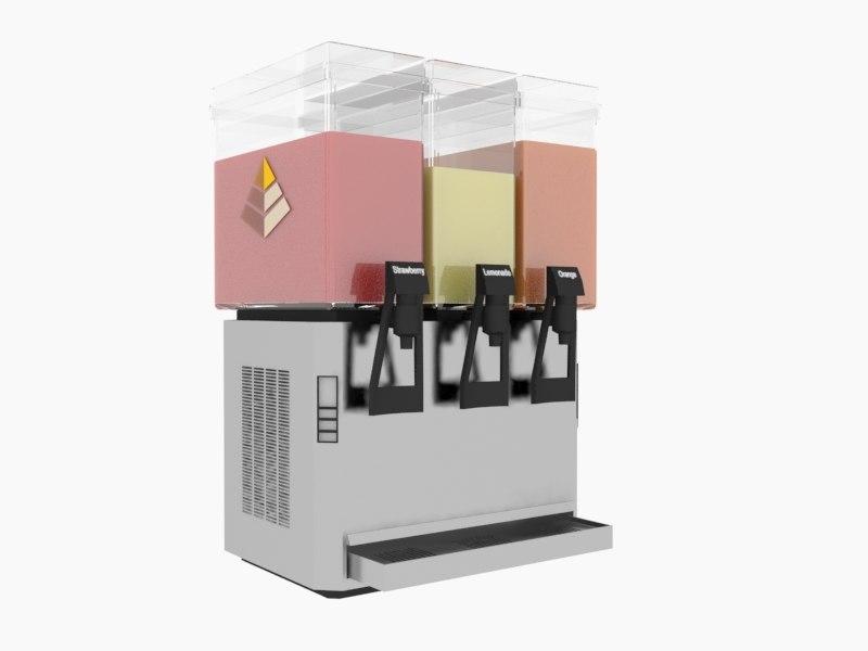 3ds max juice machine