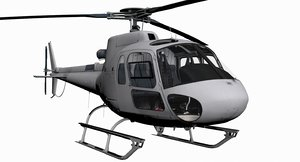 as350 b3 ecureuil 3d max