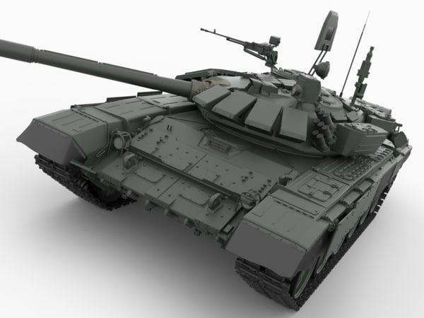 3ds t 72 main battle tank
