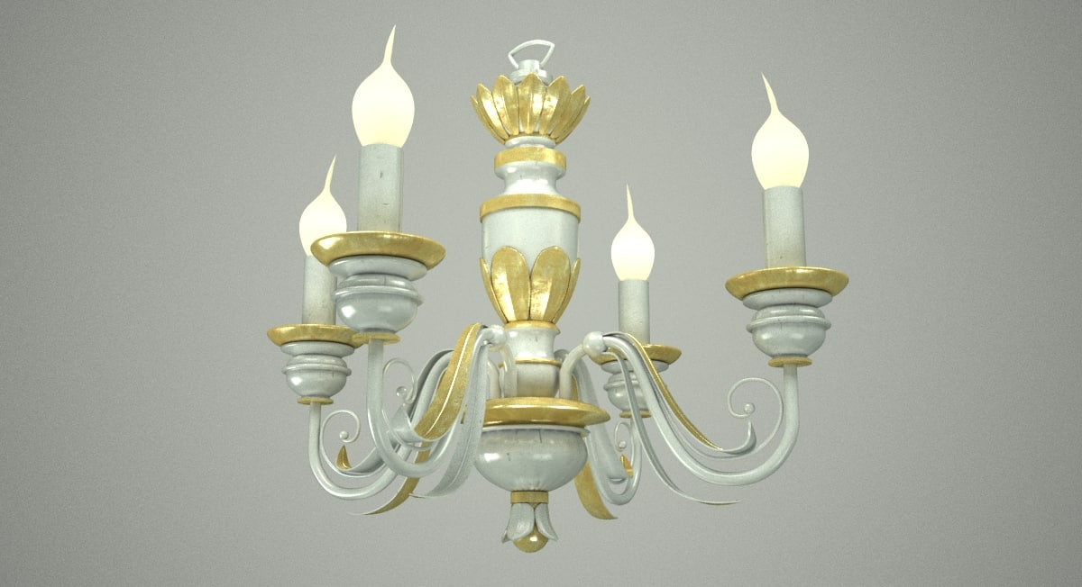 chic chandelier max