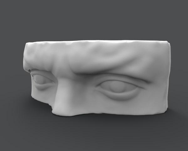 david eyes 3d model