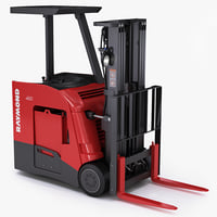 Forklift Raymond Stand-up Counterbalanced Truck Model 4250