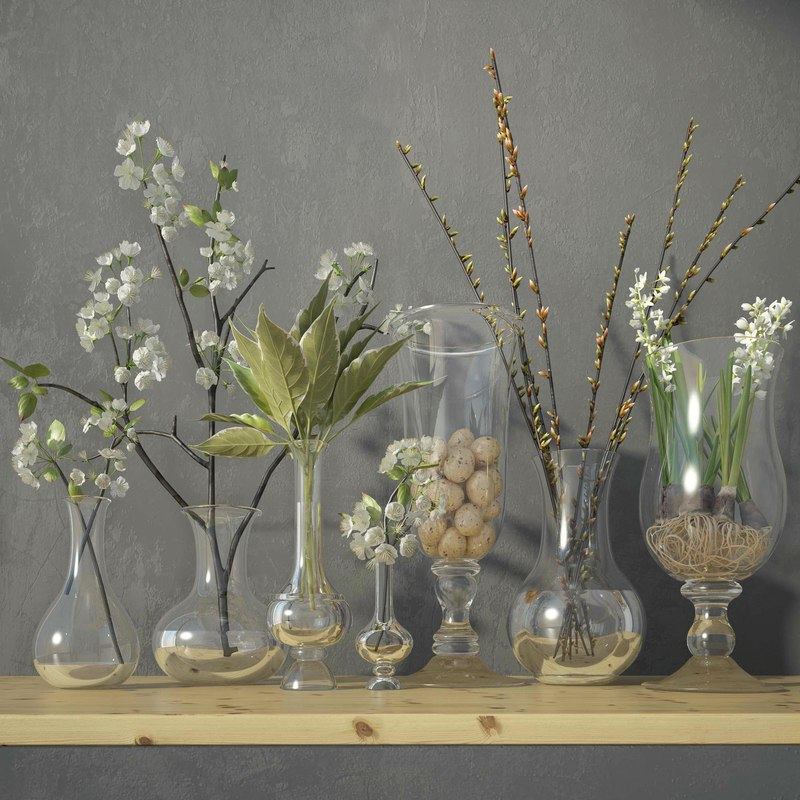 3dsmax decorative set