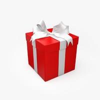 christmas present 2 3d model