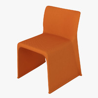 3d model molteni glove chair
