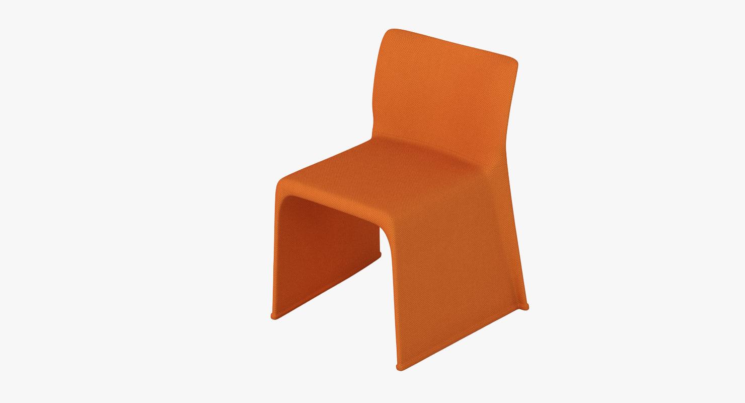 3d model molteni glove chair