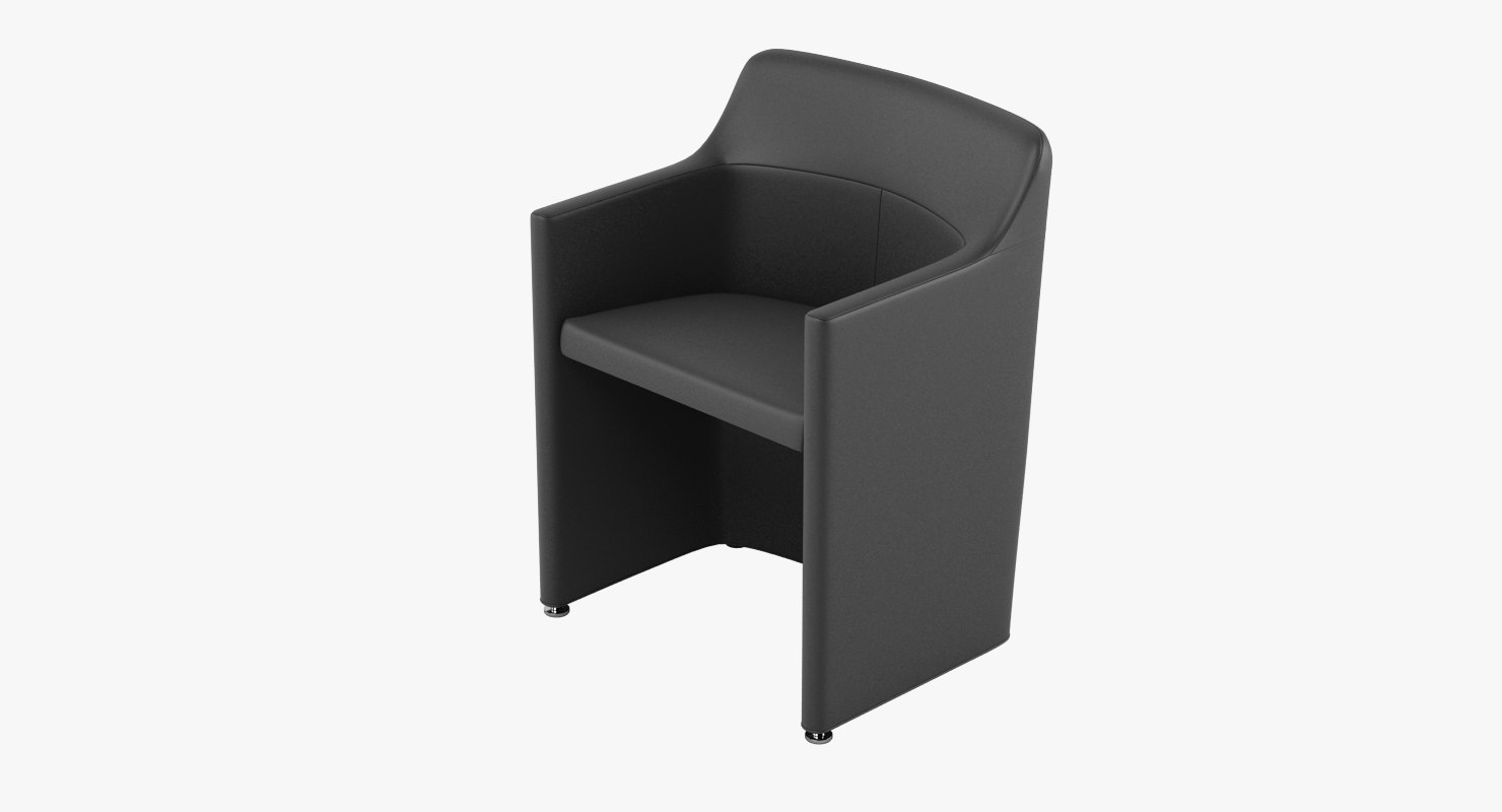 3d model molteni lyz chair