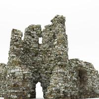 Ruins castle