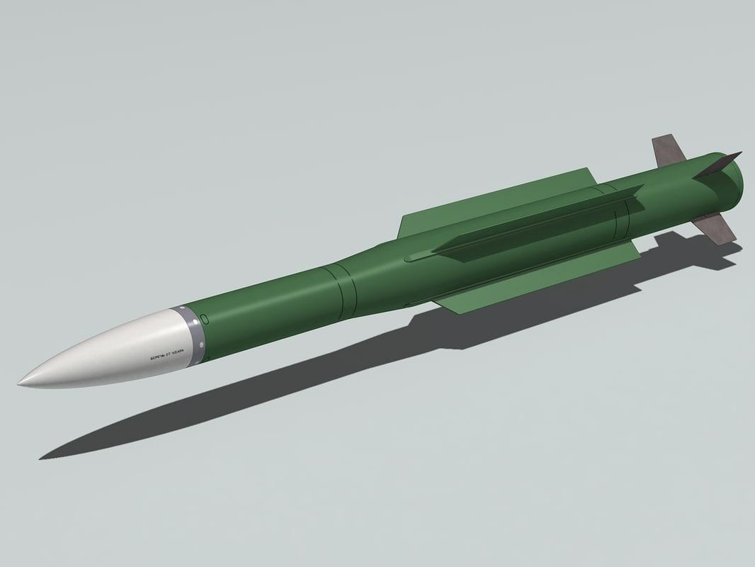 9m38 missile 3d 3ds