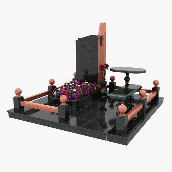 3d tomb 7 model