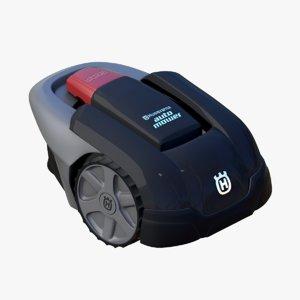 3d robot lawn mower husqvarna model