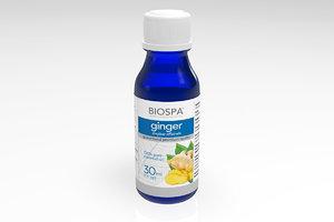 ginger essential oil 3d model