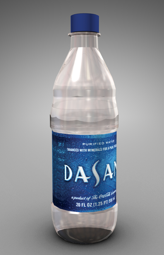 cinema4d dasani water