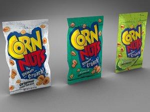 3d corn nuts
