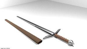blend sword claymore