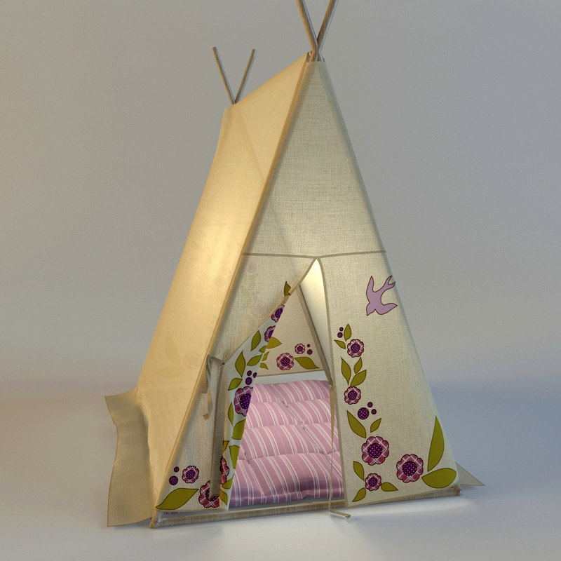 s room 3d model