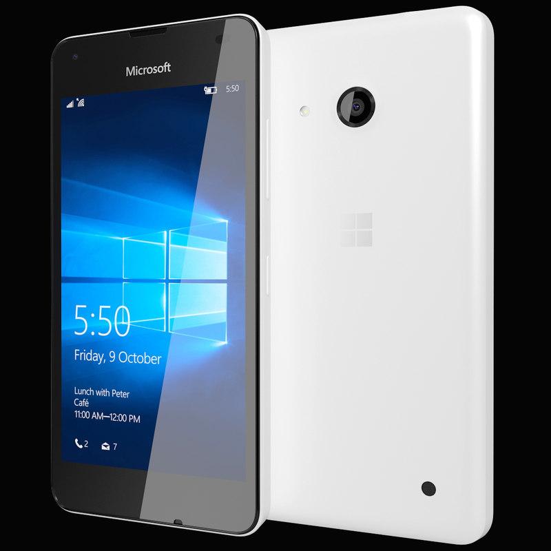 3ds max realistic microsoft lumia 550