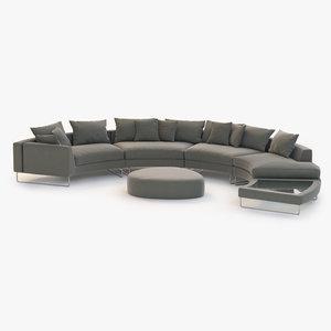 max sofa sectional fabric