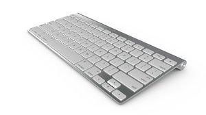 wireless keyboard 3d model