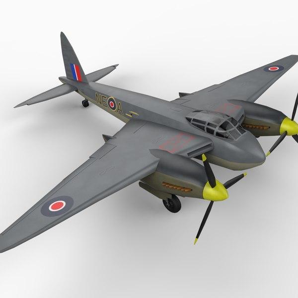 havilland mosquito aircraft max