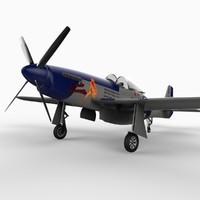 P-51 Mustang, Low Poly