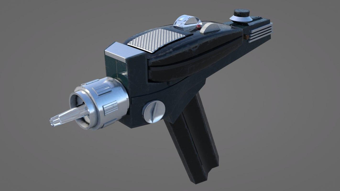 obj phaser pistol