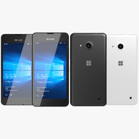 Microsoft Lumia 550 Black & White