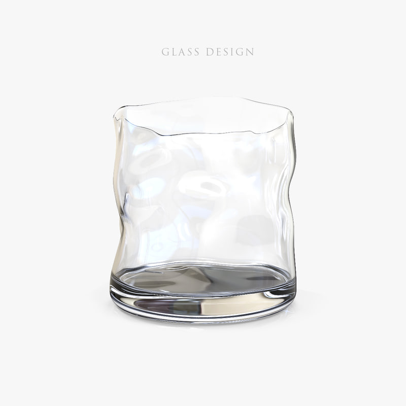glass design 3d max