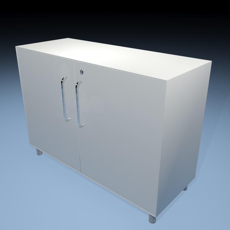 office cupboard 3d model