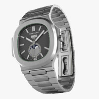 3d model patek nautilus watches