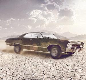 chevrolet impala 1967 3d model