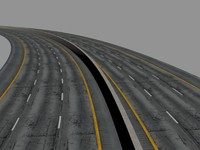 3ds max road objects