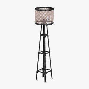 max lamp light industrial pylon