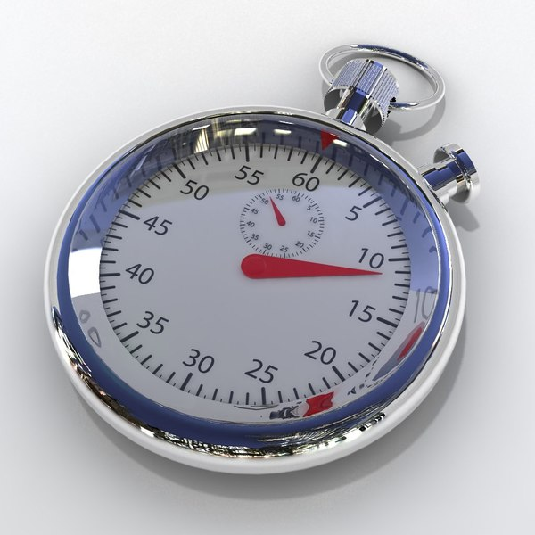 stopwatch stop watch 3d model