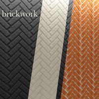 bricks wall 3d model