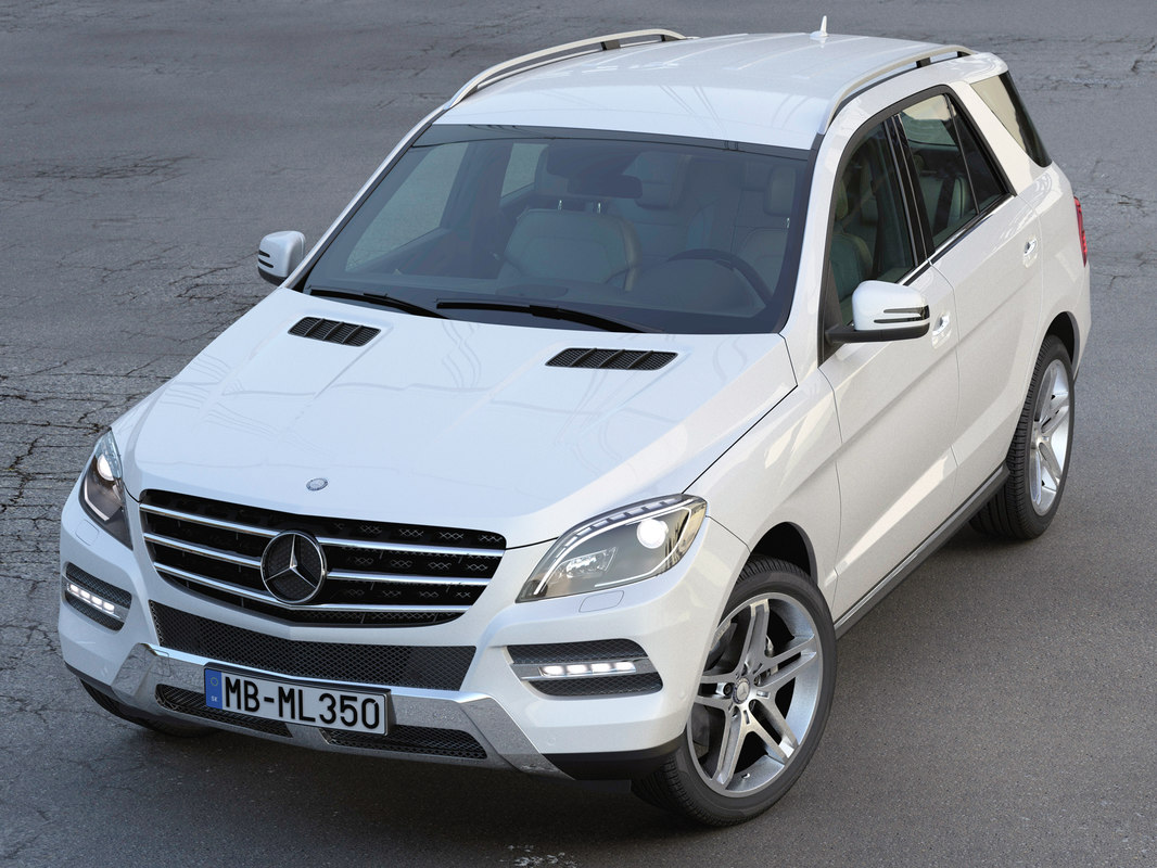 mercedes benz ml 3d 3ds
