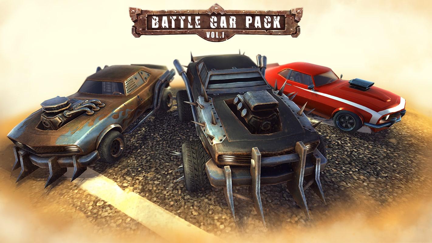 3ds max car racing pack