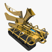trencher underwater 3d max