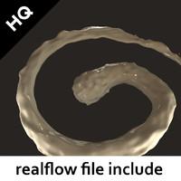 3d flow realflow model