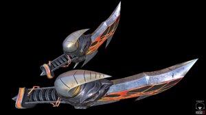 3d blades exile