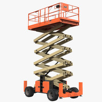 Engine Powered Scissor Lift JLG 5394RT 2