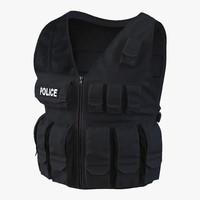 3d swat vest 2 model