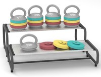 Adjustable kettlebell set 2.5-5.5kg