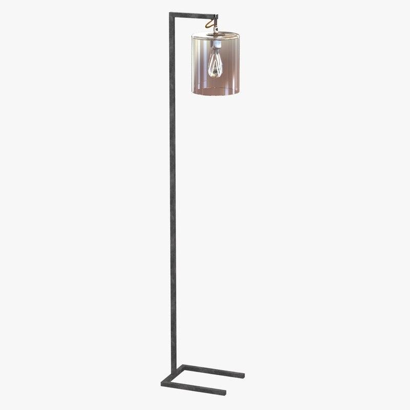 3d lamp light floor parrish