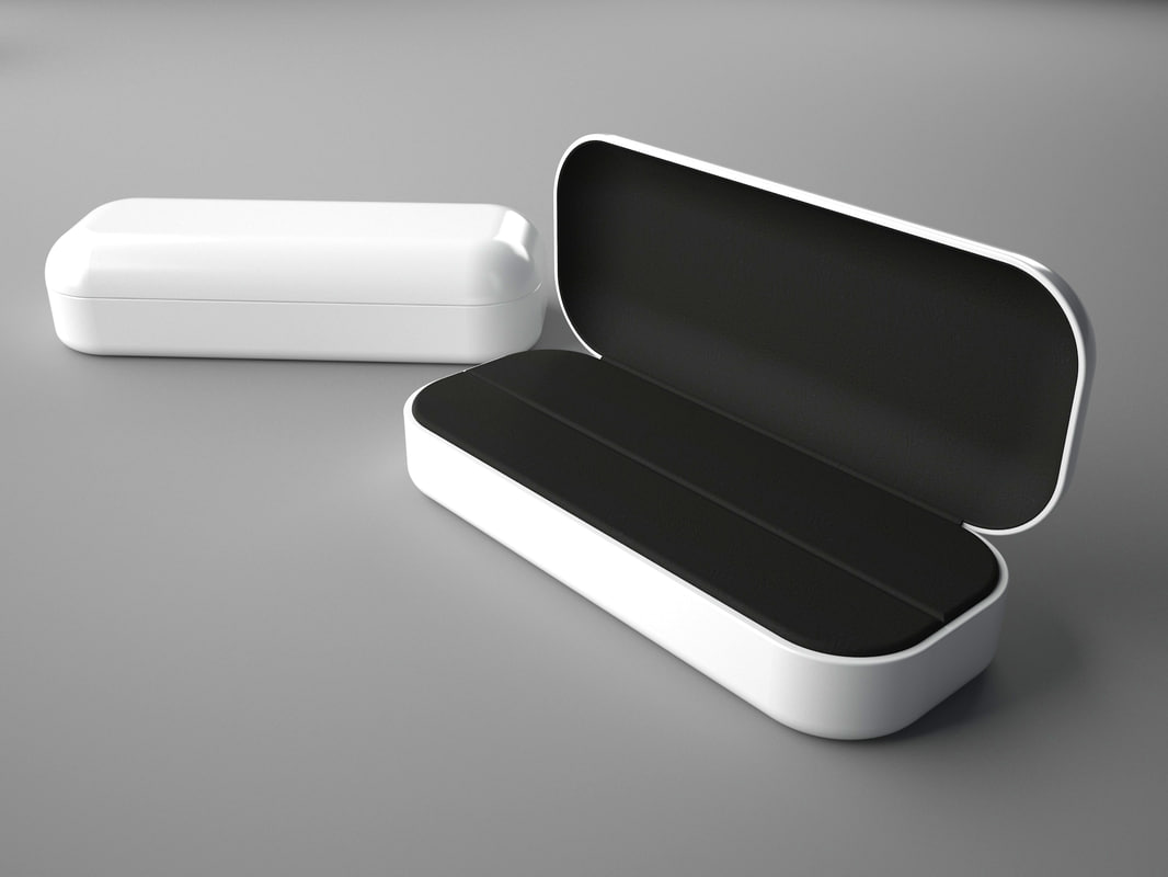 3d luxury jewelry box