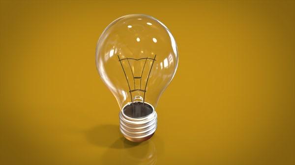 obj decoration bulb
